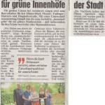 """Artikel in der Kronen Zeitung vom 5.7., """"Linz Extra"""", Seite 28."""