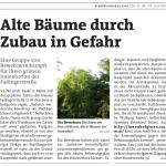 Artikel in der Stadtrundschau Linz, KW 27, Seite 4