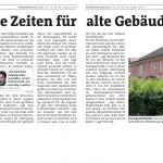 Artikel in der Stadtrundschau Linz, KW 32, Seiten 2-3