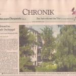 Artikel im Standard vom 5. Juli 2013, Seite 9.